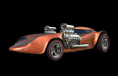 Hotwheels Twin Mill 02 by peterhirschberg