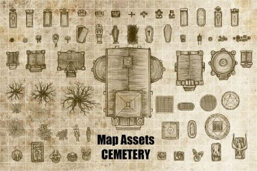 Map Assets-Cemetery by gogots