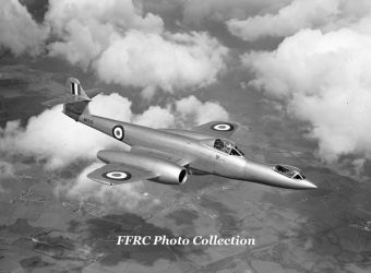 Gloster Meteor F8 WK935 Prone Pilot by fighterman35
