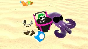 An Inkling Mini In Her Own Little Poool by mrbenio