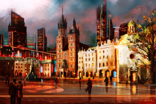 Future Cracow by Amarthis