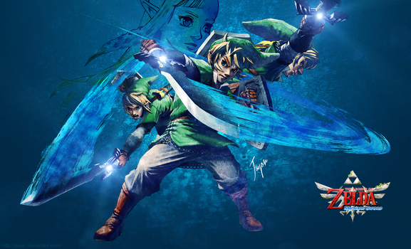 Skyward Sword Wallpaper by JAYOR