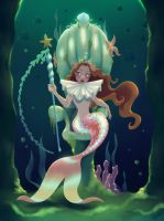 Mermaid Queen by DylanBonner