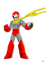 ProtoMan ruby spears  ( my little brother ) by Elimmc