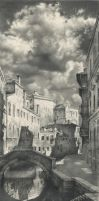 A View from other Bridge 105x47 pencil o by DChernov
