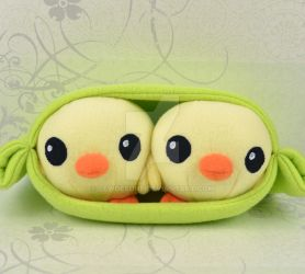 Chick Peas Plush by SewDesuNe