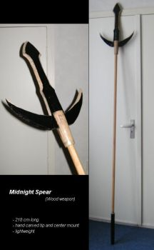 Midnight Spear by unreal-hunter