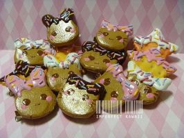 Animal and shape Cookies with sprinkles by ImperfectKawaii