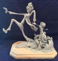 Rick and Morty Sculpture WIP (sculpt done) by Phoenix-Cry
