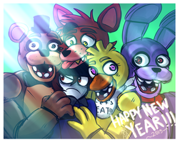 ~HAPPY NEW YEAR 2015~ by The-Star-Hunter