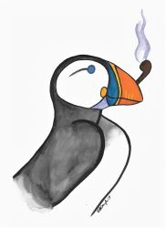 Puffin' Puffin by SoulLostAtSea