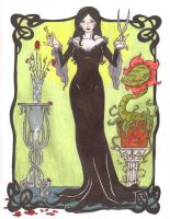 Addams Family 2011: Morticia by Saphari