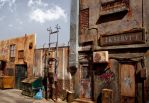 Alleyway diorama in 1:24 by alamedy
