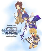 Kingdom Hearts Chibify by XeroBJD
