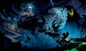 Epic Mickey Wallpaper by dekstyr
