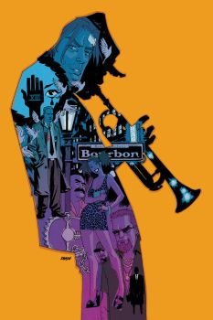 100 Bullets 8 TPB cover by Devilpig