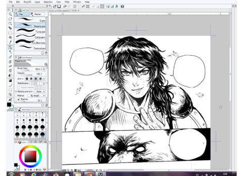 Lovino and the bear 31(preview) by mitssuki