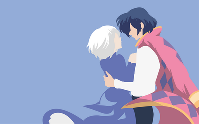 Sophie and Howl by Dingier