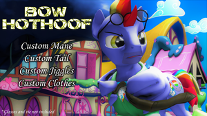 Bow Hothoof (Model DL) by Fauna-Joy