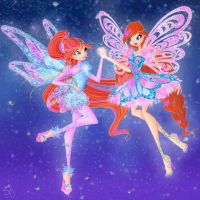 Bloom Tynix and Butterflyix by BySarahBrain