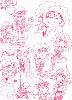 Roxanne Sketches and Dumps by vaness96