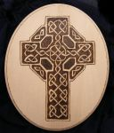 Celtic Cross Plaque by BacktoEarthCreations
