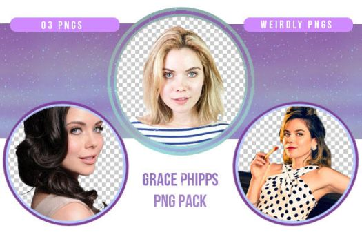 Grace Phipps PNG Pack by Weirdly-PNGS