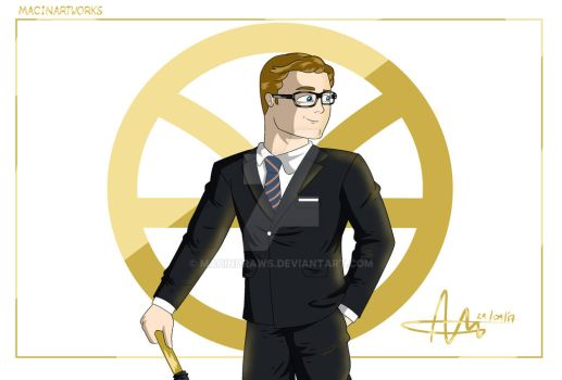 Manners Maketh Man by MacinDraws
