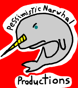 PNP Pessimistic Narwhal Productions Logo (old) by MTMissyCat