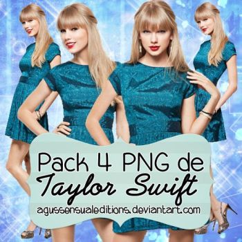 Pack PNG Taylor Swift OO1 by AgusSensualEditions
