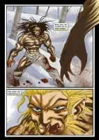 Wolverine vs. Sabretooth : Red by H2O77