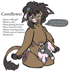 Cornflower [Personal] by SoliloquyTea