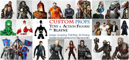 About Custom Props and Toys by Blayne Scott by blaynecustoms