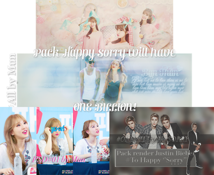 [070316] [PACK] Happy Sorry will have 1 BILLION!!! by Muncucheooo