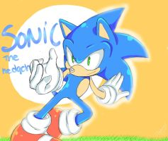 SONIC-- by Patrial