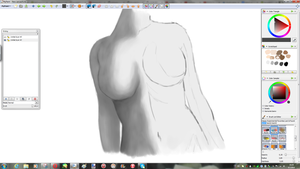 female figure W.I.P by Lali-the-Bunny