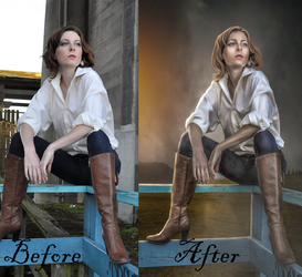 Traveler-Before/After by Shann2j
