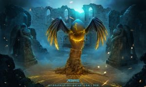 Young Gods: Son Of Rome by JayGraphixx