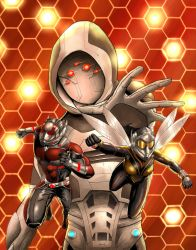 Antman and the Wasp by IVLOCK