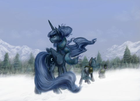 There be snow by grayma1k