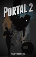 Portal 2 poster by billpyle