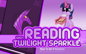 Reading With Twilight Sparkle! by dadio46