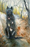 The Hairy Dog by emera