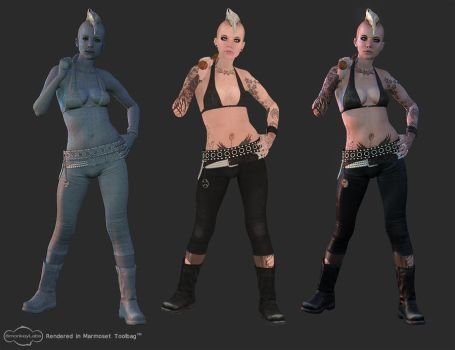 Punk Girl breakdown by screenlicker