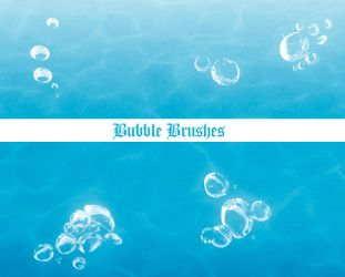 Bubble brushes by darkrose42-stock