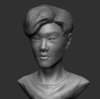 Zbrush Practice 5 by KidneyShake