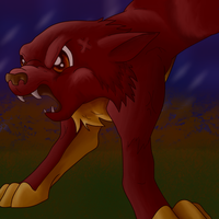 Angry animal coloured by PipeDreamNo20