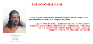 Tewodros II - the colonial game by YamaLama1986