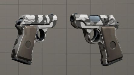 Urban camo pistol [DL] by Nikolad92