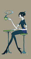 Coffee shop chic by milo2
